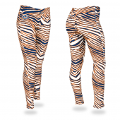 New York Mets Royal BlueOrange Zebra Legging