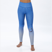 Indianapolis Colts RoyalSilver Distressed Gradient Legging