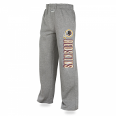 Mens Washington Redskins Heather Gray Sweatpant