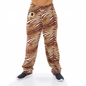 Washington Redskins MaroonGold Zebra Pant