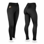 Washington Redskins Black Leggings