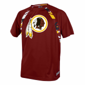 Washington Redskins Camo Poly TShirt