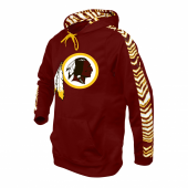 Washington Redskins Zebra Hoodie