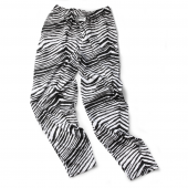 Youth Black Zebra Pant