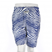 Royal Blue Zebra Short