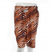 Navy BlueOrange Zebra Short