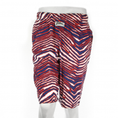 New BlueRed Zebra Short