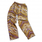 Youth PurpleGold Zebra Pant