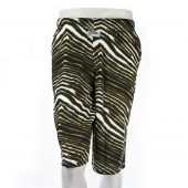 BlackMetallic Gold Zebra Short