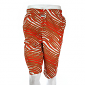 RedMetallic Gold Zebra Short