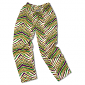 PurpleKelly GreenGold Zebra Pant