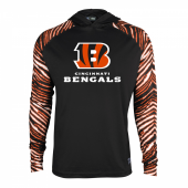 Cincinnati Bengals Zebra Light Weight Hoodie
