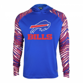 Buffalo Bills Zebra Light Weight Hoodie