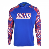 New York Giants Zebra Light Weight Hoodie