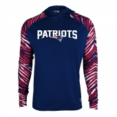 New England Patriots Zebra Light Weight Hoodie
