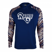 Los Angeles Rams Zebra Light Weight Hoodie