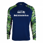 Seattle Seahawks Zebra Light Weight Hoodie