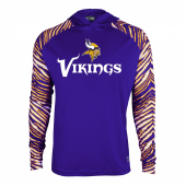 Minnesota Vikings Zebra Light Weight Hoodie
