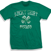 ST PATRICKS DAY GREEN LUCKY TSHIRT