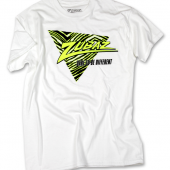 BlackNeon Green Triangle TShirt
