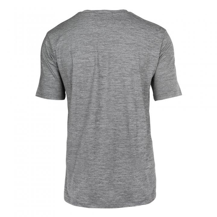 cc5b94f2f3b Men's Denver Broncos Large Graphic/Logo Space Dye T-shirt | Gray ...