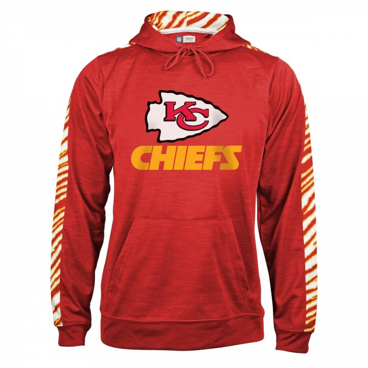 timeless design 9ea2c c7348 Kansas City Chiefs Zebra Slub Hoodie | Red/Gold | Zubaz Store