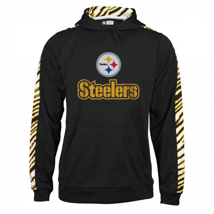 Pittsburgh Steelers Zebra Slub Hoodie  ca1054585
