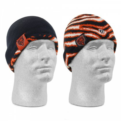 818c07c88 Chicago Bears New Era/Zubaz reversible knit beanie | Navy Blue ...