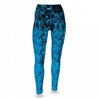 pretty nice 0c0d8 9656c Carolina Panthers Gradient Leggings | Black/Panthers Blue ...