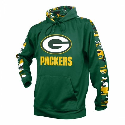 00854a83f39f Green Bay Packers Camo Hoodie