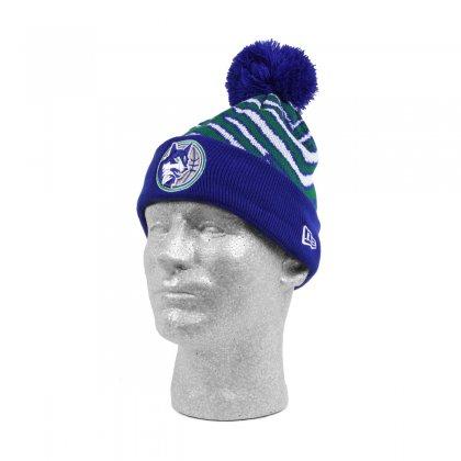 Minnesota Timberwolves New Era Knit Cap Blue Green Zubaz Store