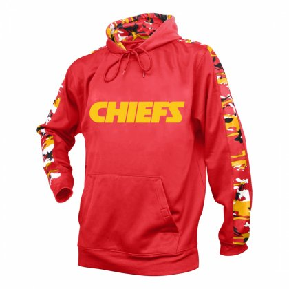 Kansas City Chiefs Camo Hoodie  e7be439c7d34