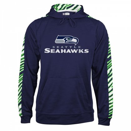 info for ffd45 60009 Seattle Seahawks Zebra Slub Hoodie | Navy Blue/Action Green ...