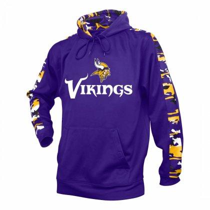 the best attitude 87ebf 12537 Minnesota Vikings Camo Hoodie | Purple/Gold | Zubaz Store