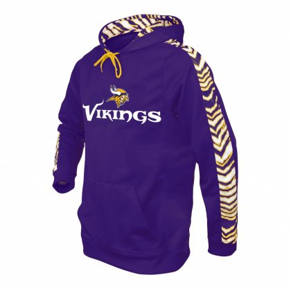 sports shoes 2c928 0086d Minnesota Vikings Zebra Hoodie | Purple/Gold | Zubaz Store