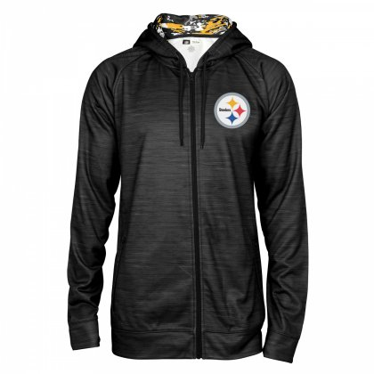 Pittsburgh Steelers Full Zipper Hoodie  2881729cb