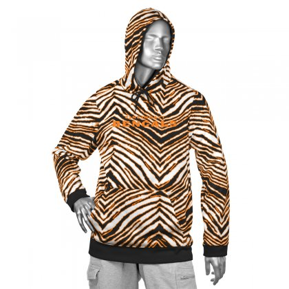 Hot Cincinnati Bengals Zebra Hoodies | BlackOrange | Zubaz Store  supplier