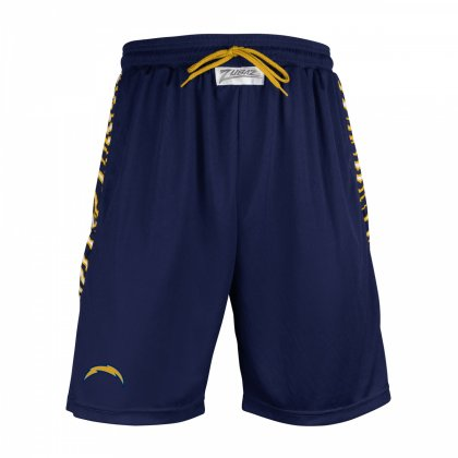 sports shoes a2450 40278 Los Angeles Chargers Athletic Team Shorts | Navy/Gold ...